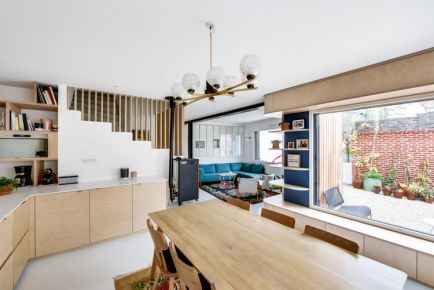 北欧风自然向往住宅装修 北欧风格家庭装修案例