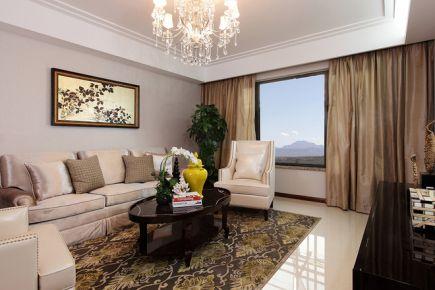 92平二房新古典混搭装修案例 混搭风格两房装修效果图