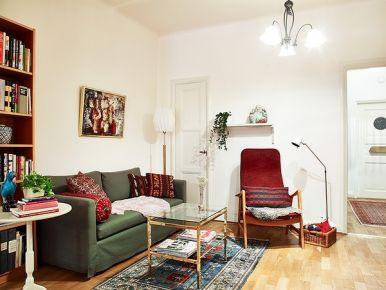 70平米复古舒适小家装修 复古风两房装修设计