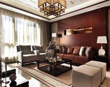 济南中铁逸都国际城170平现代风格三房装修设计