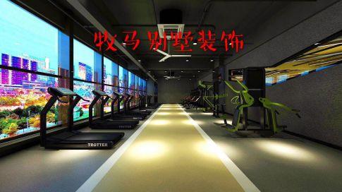 苏州倍斯特威健身房装修  简约风格办公室装修效果图