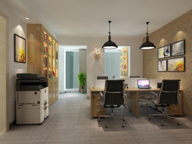 南岸办公室装修设计 简约风格办公室装修案例