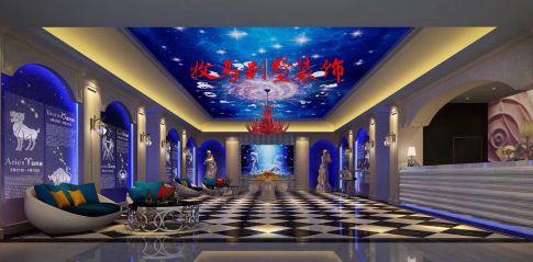 相城十二星座主题酒店装修设计 混搭风格酒店装修