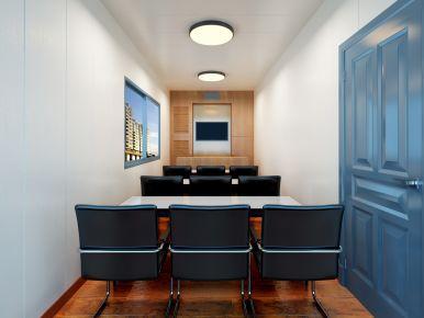 培训室装修设计 简约风格办公室装修效果图