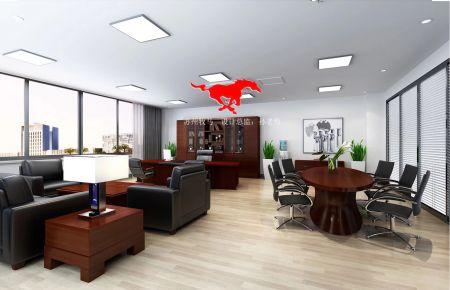 苏州阿诺精密切削技术有限公司装修 简约风格办公室装修