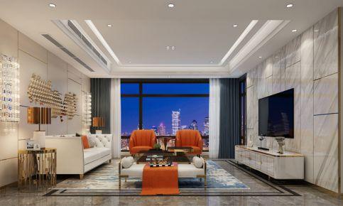 中海格林城三房裝修案例效果圖 現代風格家庭裝修設計