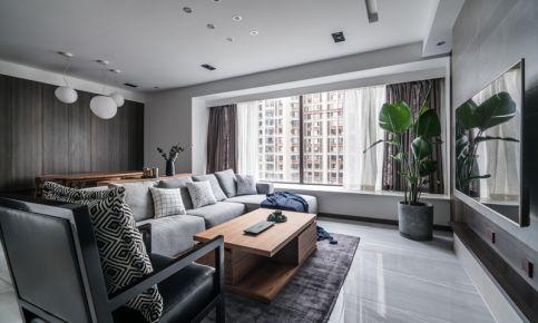 桐梓林一号四居室装修实景图 简约风格家庭装修设计