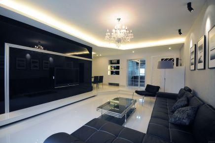 现代简约三室装修设计 现代简约风格家庭装修效果图