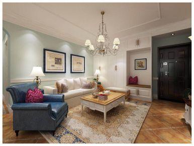 官扎营103三房装修设计 现代风格家庭装修效果图