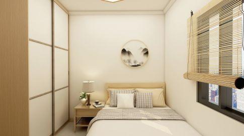 南源花园现代风格三居室装修案例