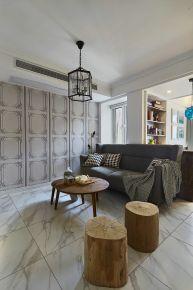 混搭风格三居室装修案例