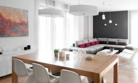 北欧风格四居室装修案例