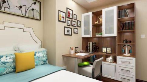 三居室混搭风装修效果图 欧式混搭风格家庭装修设计