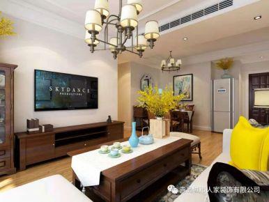 青岛滨海一号两房装修设计  现代风格家庭装修案例欣赏