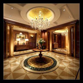 复古家庭装修设计 复古风家装效果图欣赏