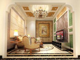 欧式风格客厅装修效果图大全 欧式风格三房装修设计
