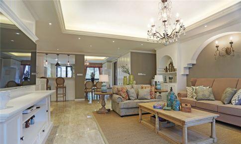 雅致美式风格四房装修设计  美式风格家庭装修效果图