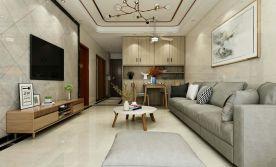 厦门院子两房装修设计 现代风格家庭装修设计效果图
