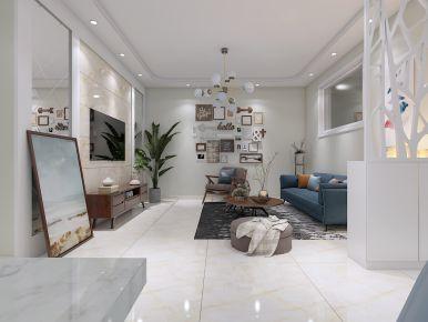 德州双企龙城国际小三室装修 简约风格家庭装修设计