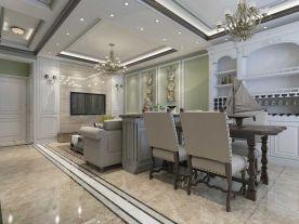 德州温馨两居室装修设计 欧式风格家庭装修效果图