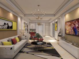 德州万豪公馆两房装修  现代风格家庭装修效果图欣赏