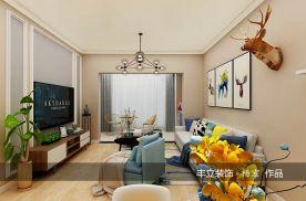 贵阳丰立装饰-利尔上河城112㎡-现代风格三房装修设计