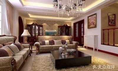 欧式风格四房装修设计  欧式风格家庭装修效果图