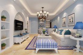 贵阳丰立装饰-美的林城128㎡地中海风格装修设计