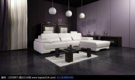 福州东方名城现代简约装修  三居室现代简约装修设计