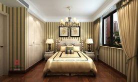 福州简欧风格三房装修  简约欧式风格家庭装修效果图