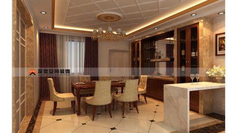 惠州中信水岸欧式风格装修 欧式风格三房装修案例