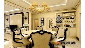 惠州方直新岸四居室装修 简约风格家庭装修效果图