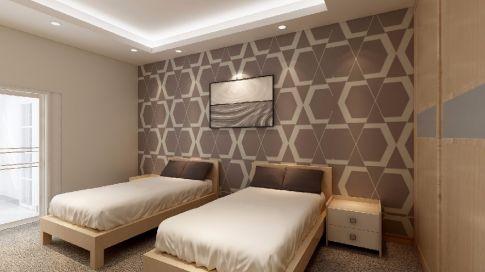 惠州恒都宾馆简约风格装修 简约风格宾馆装修效果图