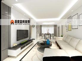 惠州荷兰堡刘姐雅居装修 简约风格三房家装效果图