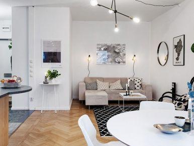 都市白领的简约爱巢 简约风格三居室装修设计