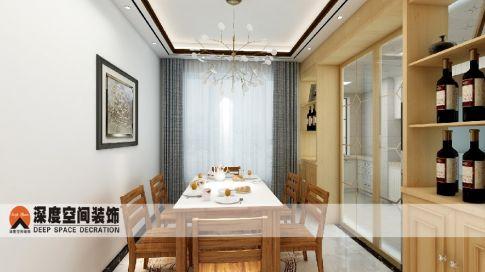 惠州星耀国际两房装修 简约风格家庭装修效果图