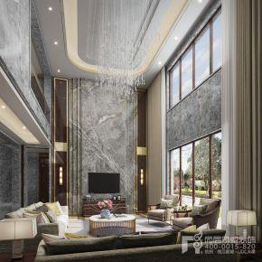千方别墅新中式风格装修设计图