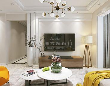 海大装饰-未来方舟-95平米现代风格三房装修设计图欣赏