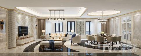 现代法式别墅装修效果图欣赏 现代法式风格的浪漫与唯美