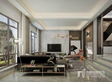 现代风格别墅装修设计图 时尚的轻灵