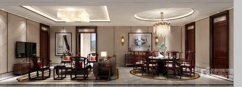 新东方艺术之美 中式风格别墅设计图