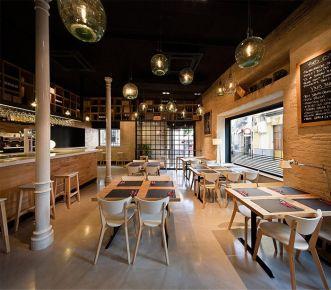美式风格商铺装修设计 色彩艺术在西餐厅设计中的应用