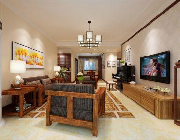 惠州保利香颂湖三房装修 简约风格家庭装修设计