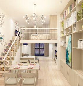 惠州绿地启航三房装修 现代风格家庭装修效果图