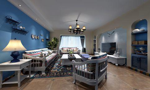 海韵兰庭地中海二居室装修设计
