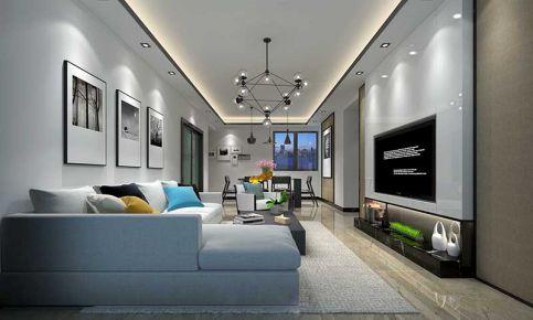 雅居乐三居室现代风格装修