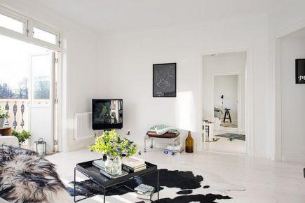 75平米优雅春色三居装修 75平米现代风格家庭装修