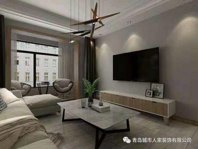 和达璟城三居室简约装修设计