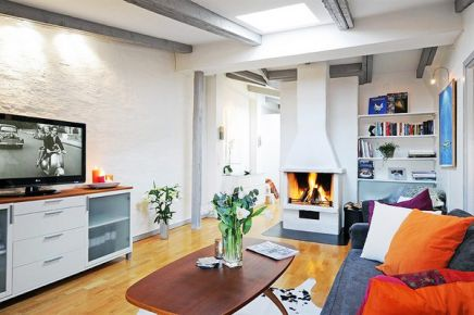 68平方米时髦北欧风公寓设计 北欧风格家庭装修效果图
