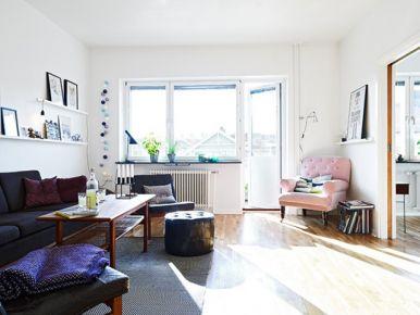 75平米质感混搭公寓装修设计 创意混搭小户型装修设计